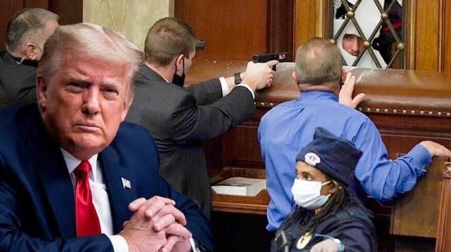 ABD'yi kaosa sürükleyen Trump'ı 6 ay önceki hapis tehdidi mesajıyla vurdular: 10 yıl yatacak mı?