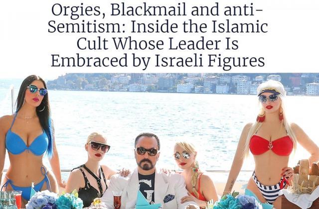 Adnan Oktar'a verilen ceza İsrail gazetesinde de haber oldu