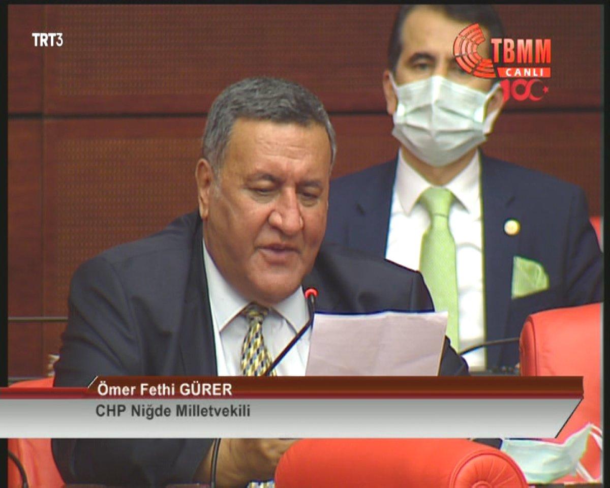 CHP li Ömer Fethi Gürer, 40 saniyede 6 soru sordu #2