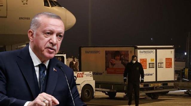 Cumhurbaşkanı Erdoğan işareti vermişti! Çin aşıları pazar sabahı Türkiye'ye geliyor