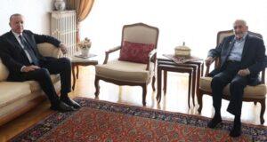 Cumhurbaşkanı Erdoğan, Oğuzhan Asiltürk ile görüşmesine ilişkin bilgi verdi: İttifak meselesini konuştuk