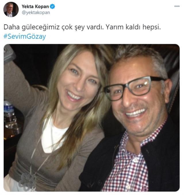 Gazeteci ve sunucu Sevim Gözay hayatını kaybetti