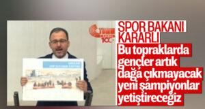 Gençlik ve Spor Bakanı Kasapoğlu: Bu topraklarda gençler artık dağa çıkmayacak