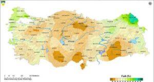 İzmir ve Antalya hariç, tüm illerde yağışlar normalin altında kaldı