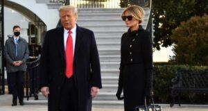 Melanie Trump, Beyaz Saray'a böyle veda etti: First Lady'niz olmak en büyük onurdu
