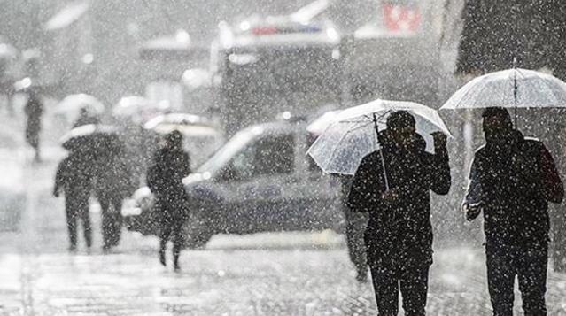 Meteoroloji'den yeni yılın ilk günü için sağanak yağış uyarısı