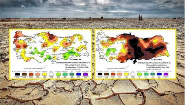Meteoroloji ve NASA'dan sonra bir su kıtlığı uyarısı da Dünya Yaban Hayatı Fonu'ndan: Türkiye'de kritik seviye aşıldı