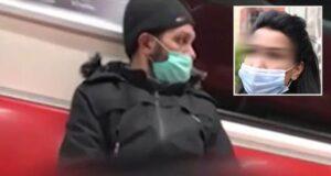 Metroda büyük skandal! Genç kadının önce saçını okşadı sonra cinsel tacizde bulundu