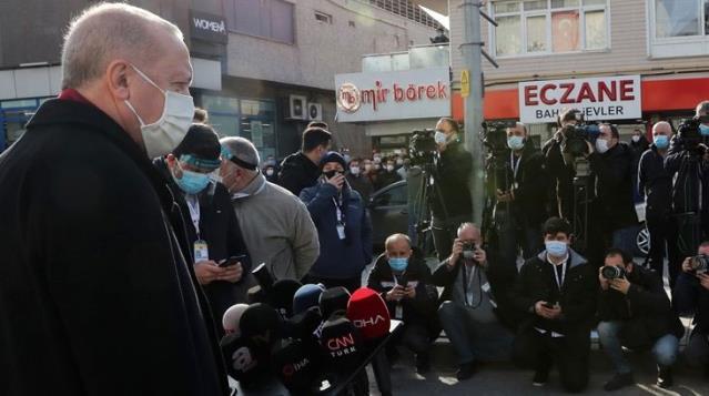 Son Dakika! Erdoğan'dan Canan Kaftancıoğlu'na sert sözler: Zaten kendisi bir DHKP-C militanıdır