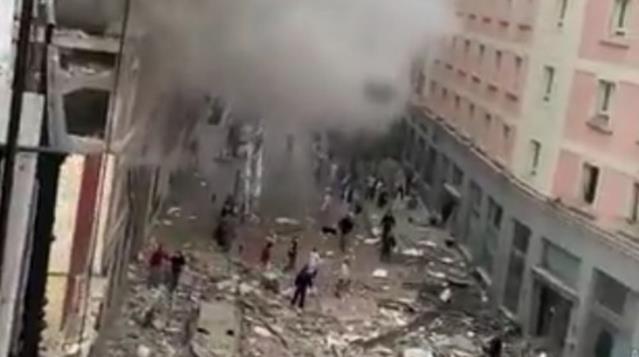 Son Dakika: İspanya'nın başkenti Madrid'in merkezinde şiddetli bir patlama meydana geldi