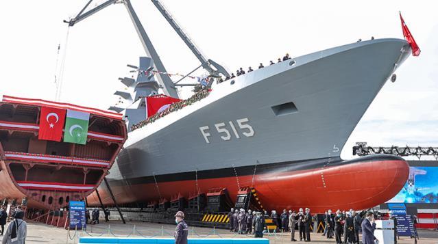 Türkiye için tarihi gün! Cumhurbaşkanı Erdoğan'ın katılımıyla ilk milli fırkateyn denize indirildi