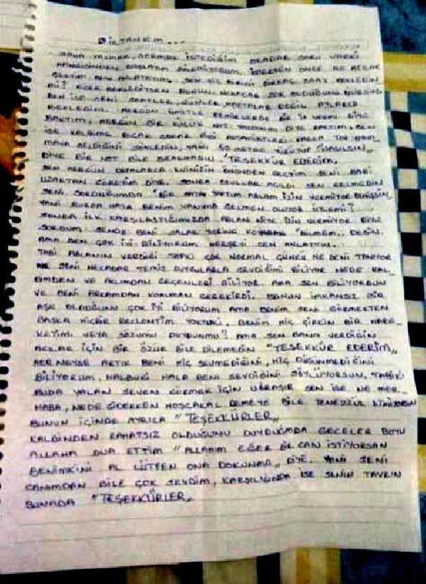 13 yaşındaki kız çocuğuna aşk mektubu yazan kırtasiyeciye 5 yıl 10 ay hapis