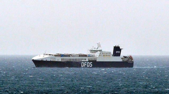 Çanakkale açıklarında Ro-Ro gemisinde yangın çıktı