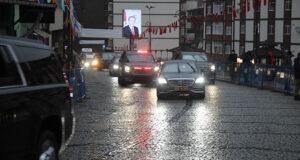 Cumhurbaşkanı Erdoğan Elazığ'dan Rize'ye döndü