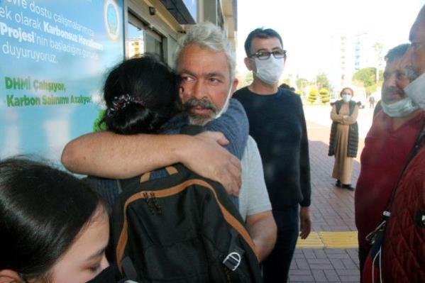 Kurtarılan gemici ailesine kavuştu; gözyaşları sel oldu