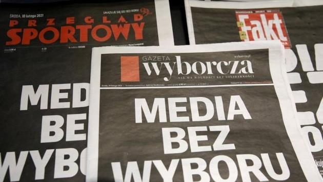 Polonya'yı ayağa kaldıran medya vergisi: Ekranlar karardı