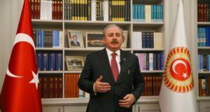 TBMM Başkanı Şentop: 'Terör örgütüne ve onun tüm destekçilerine lanet olsun'