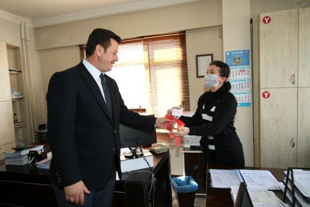 Başkan Soykan'dan kadınlar günü ziyareti