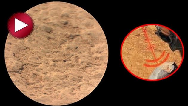 NASA, kızıl gezegen Mars'ın sesini yayınladı