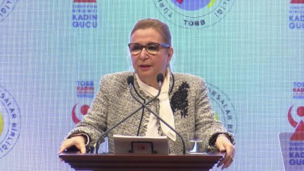 Son dakika! Bakan Pekcan: Kadınların iş gücüne katılım oranı yüzde 34'e ulaştı (2)