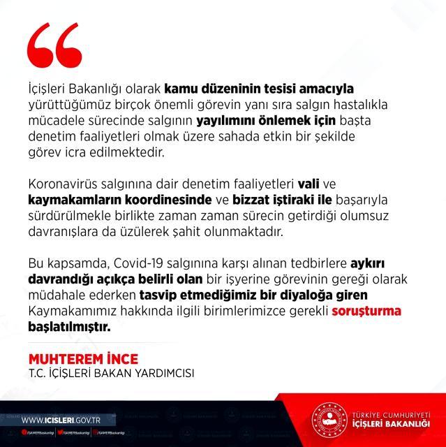 Son dakika haberi... Çerkezköy Kaymakamı Abban hakkında soruşturma açıldı