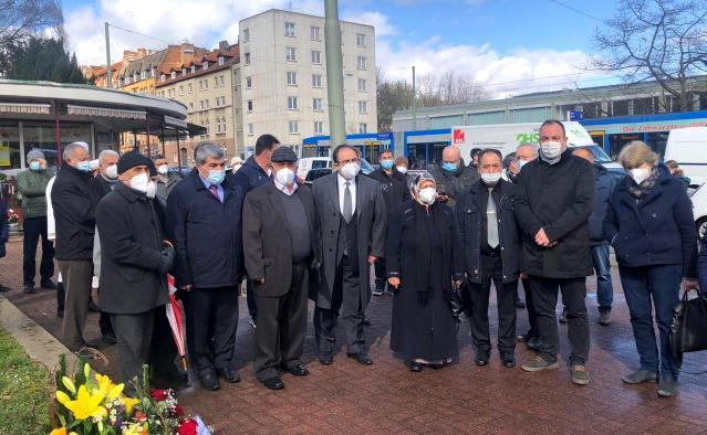 Almanya'da NSU kurbanı Halit Yozgat törenle anıldı