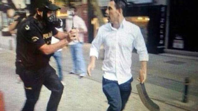 Beşiktaş'taki çatışmanın arkasından 'Palalı Sabri' çıktı