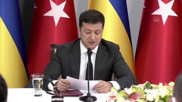 Son dakika haberi! Ukrayna Devlet Başkanı Zelenskiy: Savunma sanayisi stratejik ortaklığımızın itici gücüdür