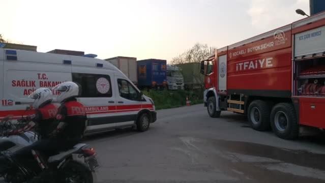 Son Dakika   Trafo fabrikasında çıkan yangın söndürüldü