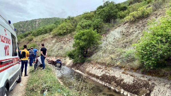 Son dakika haberleri... Tokat'ta sulama kanalına düşen traktörün sürücüsü öldü