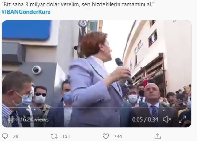 """Akşener'den ırkçı lider Kurz'a mülteci yanıtı! """"3 milyar euro verelim siz alın"""" sözleri sosyal medyada kampanyaya dönüştü"""