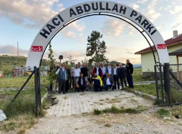 Son dakika haberi: Tosya'da Şehit Er Murat Çökmez anısına fidan dikildi