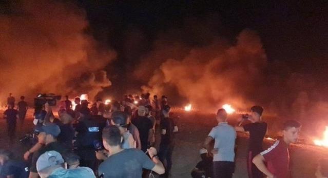 İsrail güçlerinden Gazze sınırında düzenlenen gösterilere müdahale: 18 Filistinli yaralandı
