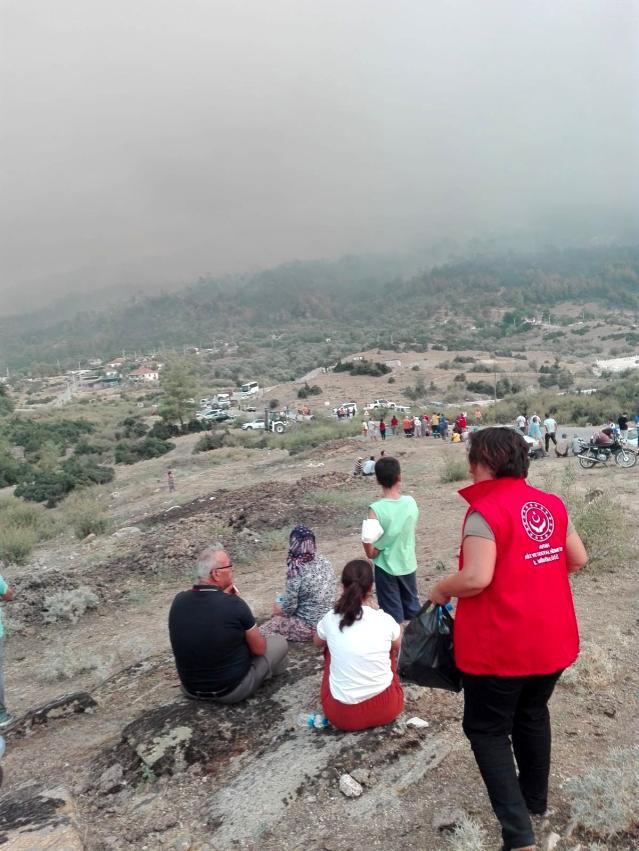 Son dakika haberleri | Yangınzedelere psikolojik destek