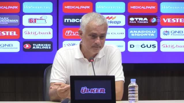 Trabzonspor - Roma maçının ardından - Jose Mourinho