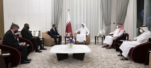 ABD Dışişleri Bakanı Blinken ve Savunma Bakanı Austin Katar'da