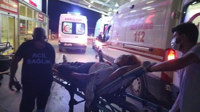 Adana'da otomobilin ağaca çarpması sonucu 4 kişi yaralandı