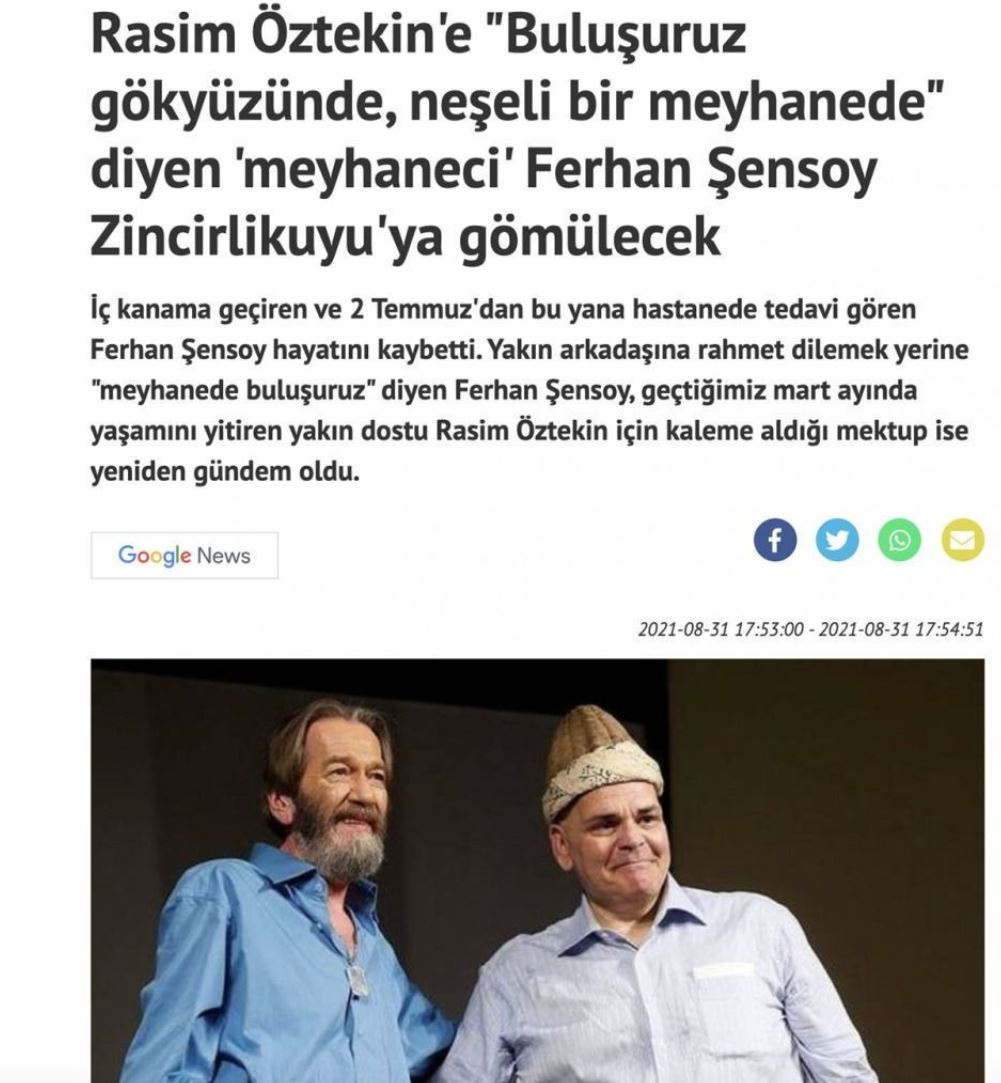 Yeni Akit skandala imza attı! Ferhan Şensoy'a büyük saygısızlık